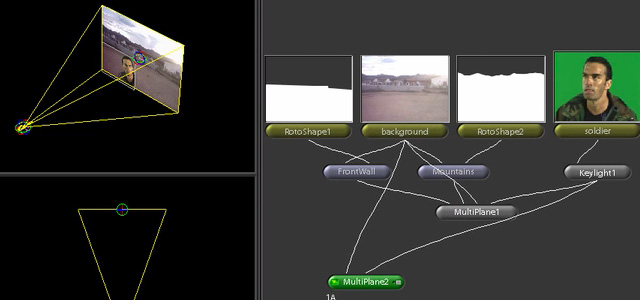 animare camera shake multi plane